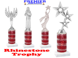 Rhinestone trophy.  Add some bling to your pageants, contests, events and more!  009