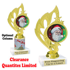 Discontinued Santa Trophy.  Quantities are limited.  84506