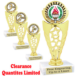 Discontinued  Trophy.  Quantities are limited.  92196