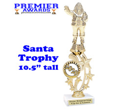 Santa trophy.  Great trophy for those Holiday Events, Pageants, Contests and more!  2020
