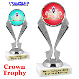 Crown Theme trophy.  Great trophy for your pageants, events, contests and more!   5096s