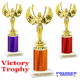 Victory  trophy.  Great trophy for your pageants, events, contests and more!   1 Column. Victory