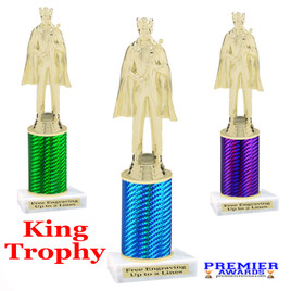King  trophy.  Great trophy for your pageants, events, contests and more!   1 Column.