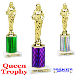 Queen  trophy.  Great trophy for your pageants, events, contests and more!   1 Column.