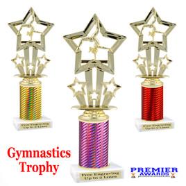 Gymnastics -  Dance trophy.  Great for your dance recitals, contests, gymnastic meets, schools and more. f761