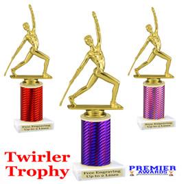 Majorette  trophy.  Great for your dance recitals, contests, gymnastic meets, schools and more.