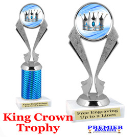 King Crown trophy.  Great trophy for your pageants, events, contests and more!   5096
