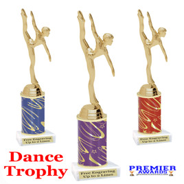 Dance - Gymnastics Trophy.  Great trophy for your pageants, events, contests, recitals, and more.