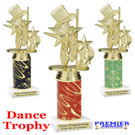 Dance Trophy.  Great trophy for your pageants, events, contests, recitals, and more.  8195