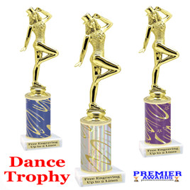 Dance Trophy.  Great trophy for your pageants, events, contests, recitals, and more.  f711
