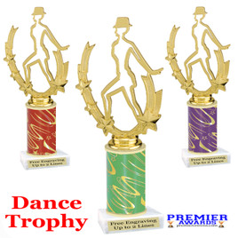 Dance Trophy.  Great trophy for your pageants, events, contests, recitals, and more.  90885