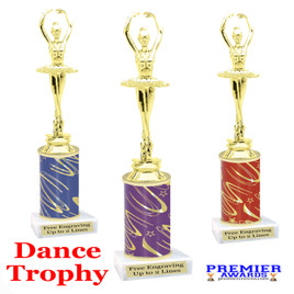 Dance Trophy.  Great trophy for your pageants, events, contests, recitals, and more.  f3391