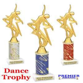 Dance Trophy.  Great trophy for your pageants, events, contests, recitals, and more.  5009 g