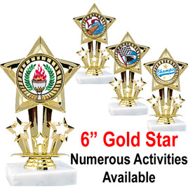 """6"""" Star figure with numerous sports & activities available"""