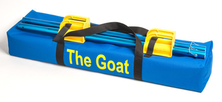 Goat Duffle Bag. Heavy canvas Material.