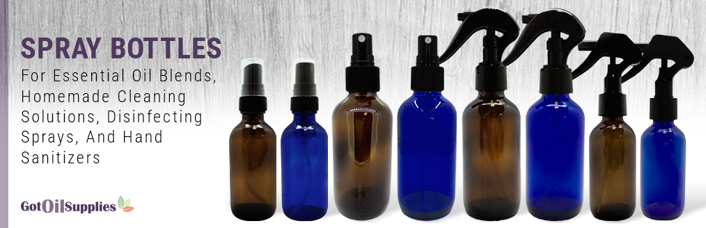Spray Bottles For Disinfecting and Sanitizing