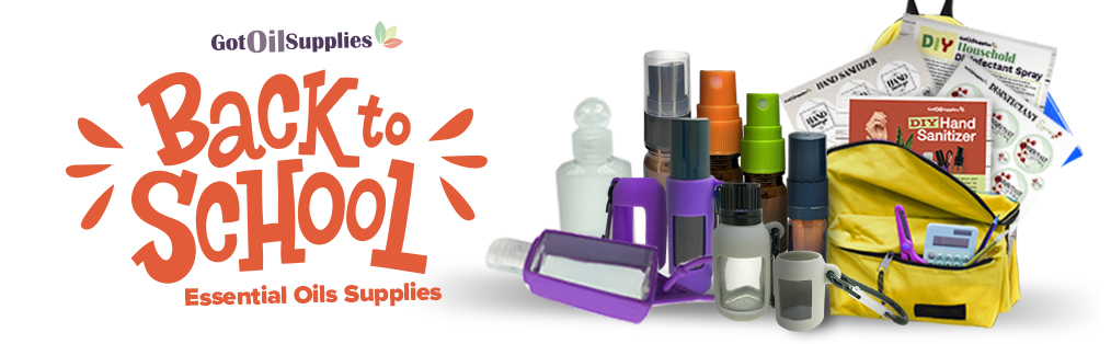 Back To School Essential Oil Supplies