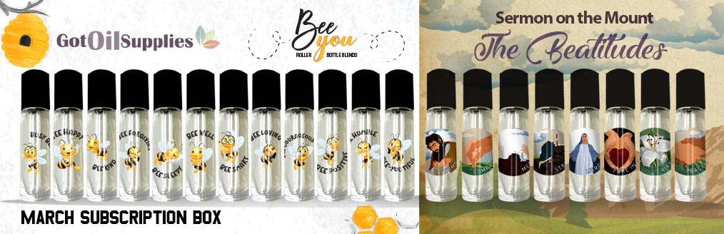 Bee You & Beatitudes Essential Oil Collections