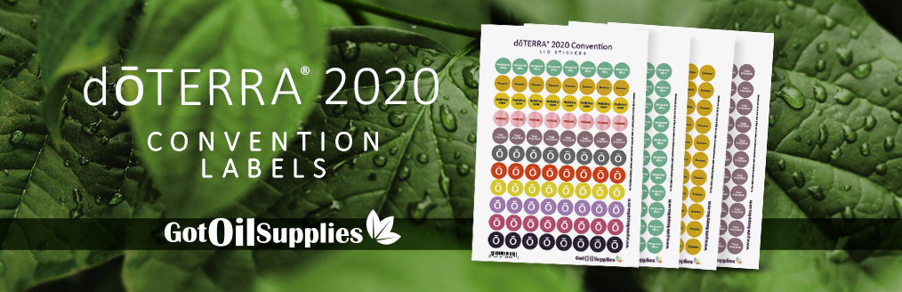 doterra 2020 convention labels
