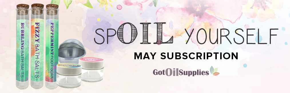Spoil Yourself Essential Oil Subscription Boxes