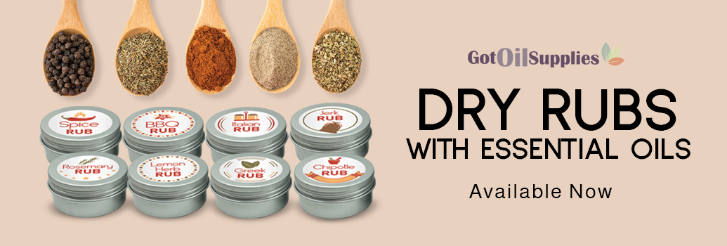 Dry Rubs with Essential Oils