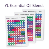 YL Essential Oil Blends Lid Sticker Sheets