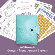Doterra Aqua Content Management System for Essential Oils