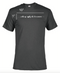 Women's Charcoal Gray Wake, Up, Apply Oils, Be Awesome Short Sleeve T-Shirt