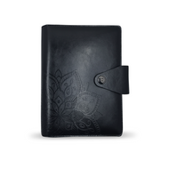 Black Content Management System Notebook Binder For Essential Oil Supplies