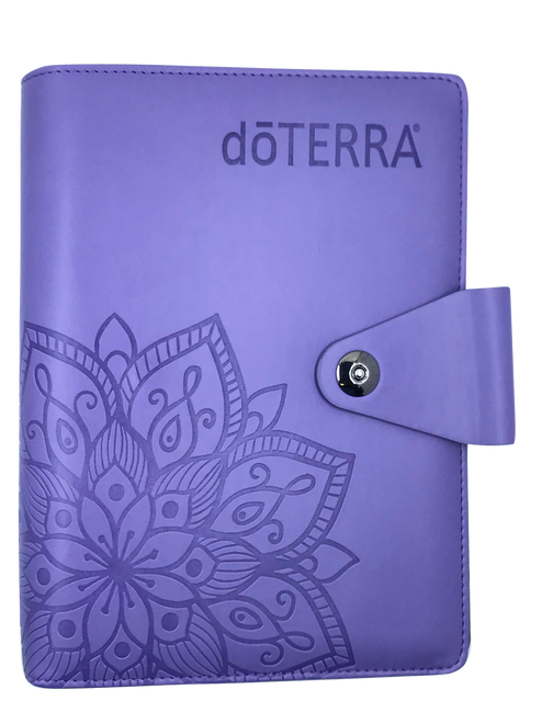 dōTERRA® Purple Content Management System Notebook For Essential Oils