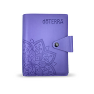 dōTERRA® Purple Content Management System Notebook Binder For Essential Oil Supplies