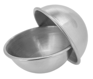 Stainless Steel Essential Oil Bath Bomb Mold - 6.5cm