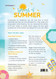 Sprays of Summer Essential Oil Recipe Sheets Front