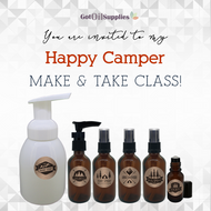 FREE Happy Camper Social Media eInvite For A Make And Take Class