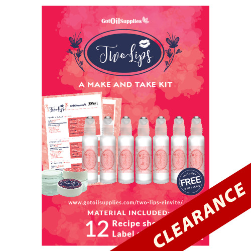 Two Lips Essential Oil Make And Take Workshop Kit For Women