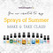 Sprays Of Summer Essential Oil Make And Take Workshop Kit For Room Sprays eInvite