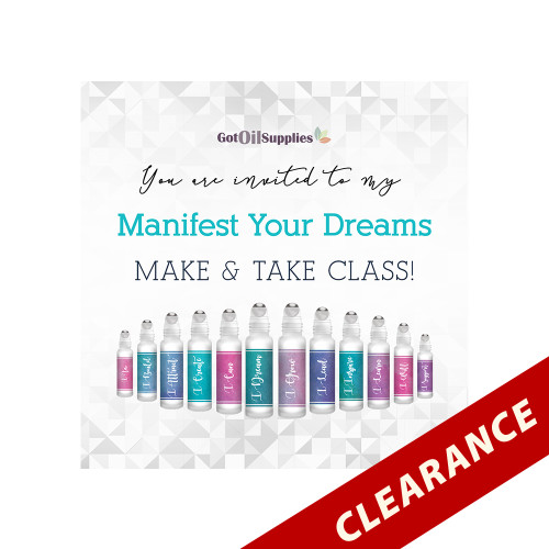 FREE Manifest Your Dreams Social Media eInvite For A Make And Take Class