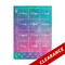 Manifest Your Dreams Essential Oil Label Sheets For Leadership
