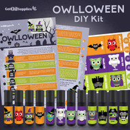 Owlloween Essential Oil Do It Yourself DIY Kit For Halloween