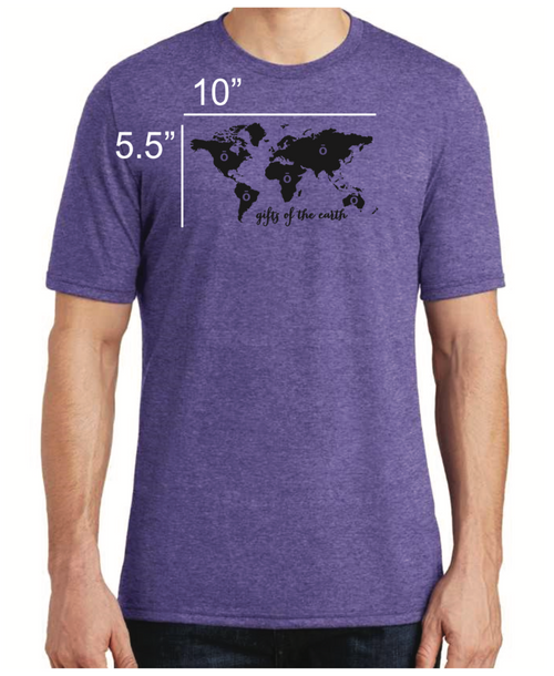 Purple dōTERRA® ō Gifts Of The Earth Short Sleeve T-Shirt
