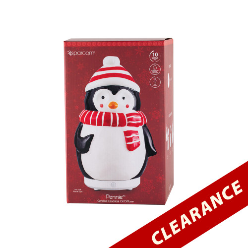 Pennie The Penguin Christmas Holiday Essential Oil Diffusers