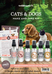 Cats and Dogs Make & Take Kit | Essential Oil Supplies For Your Pets