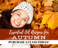 Essential Oil Recipes For Autumn | Compliant Social Media Downloadable Workshop