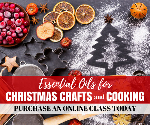 Essential Oils For Christmas Crafts And Cooking Class | Compliant Social Media Downloadable Workshop