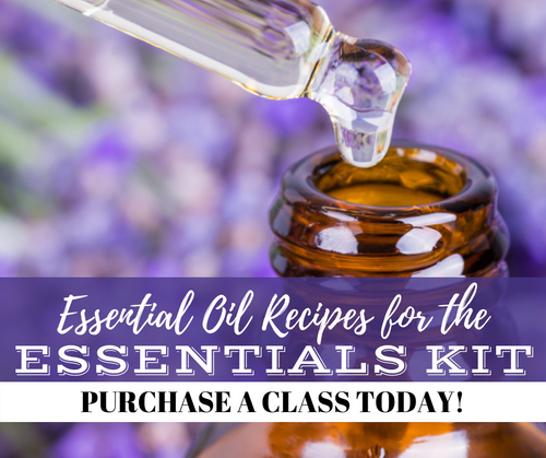 Essential Oil Recipes For the Essentials Class | Compliant Social Media Downloadable Workshop