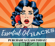 Essential Oil Hacks Class | Compliant Social Media Downloadable Workshop