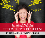 Essential Oils For Head Tension Class | Compliant Social Media Downloadable Workshop