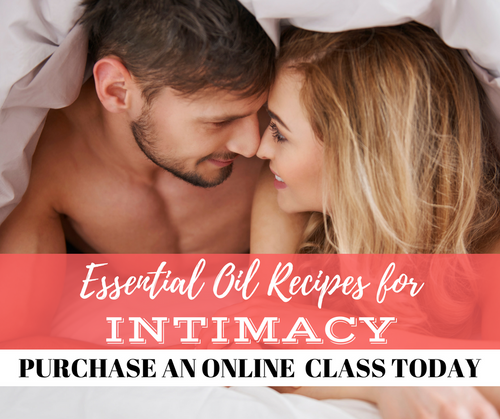 Essential Oil Recipes For Intimacy Class | Compliant Social Media Downloadable Workshop