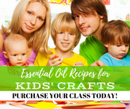 Essential Oil Recipes For Kids Crafts Class | Compliant Social Media Downloadable Workshop