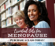Essential Oils For Menopause Class | Compliant Social Media Downloadable Workshop